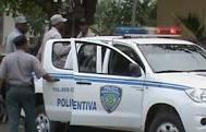 Matan supuesto atacante patrulla policial