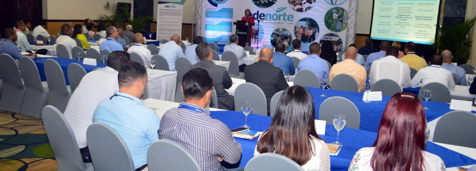 Edenorte presenta programa seguridad y salud