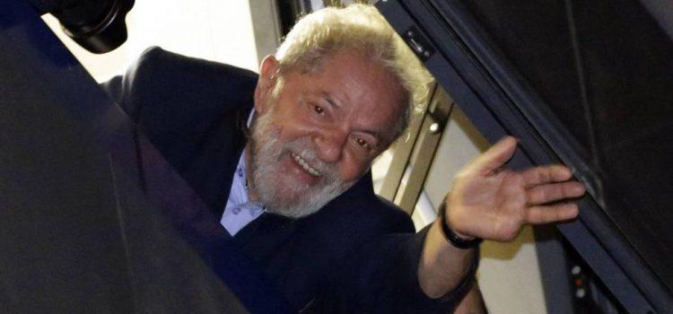 Inscriben a Lula como candidato presidencial