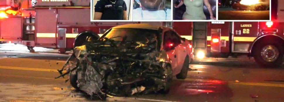 Identifican dominicanos muertos accidente
