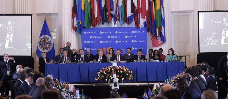 Washington pide expulsión Venezuela de OEA