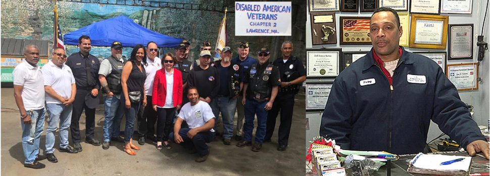 Consulado apoya veteranos discapacitados
