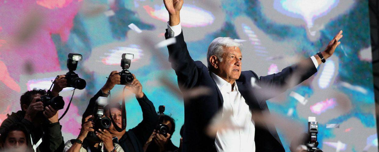 Obrador también gana mayoría Parlamento