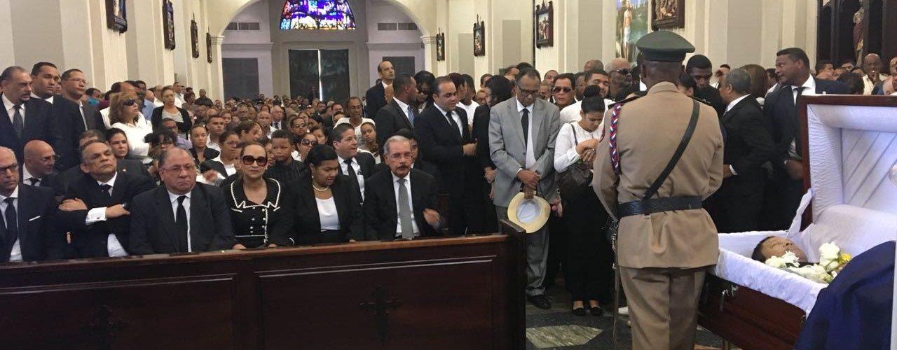 Medina va misa memoria Monchy Rodríguez