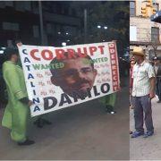 Realizan protestas contra Danilo Medina