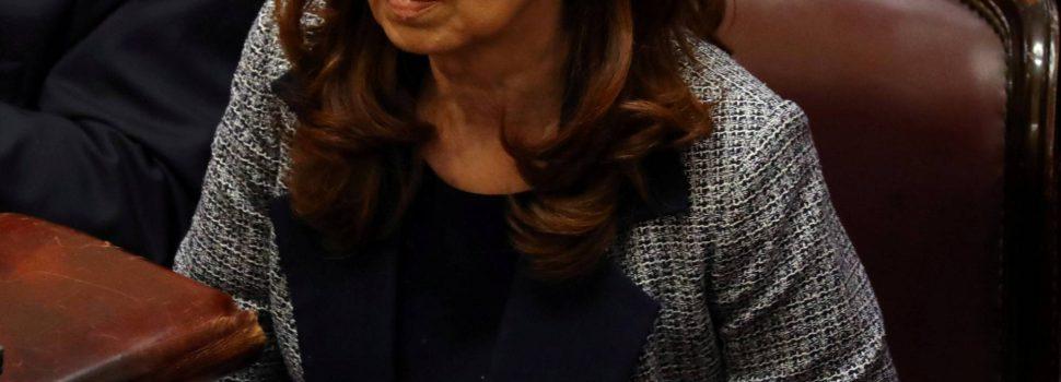 Prisión preventiva para Cristina Fernández
