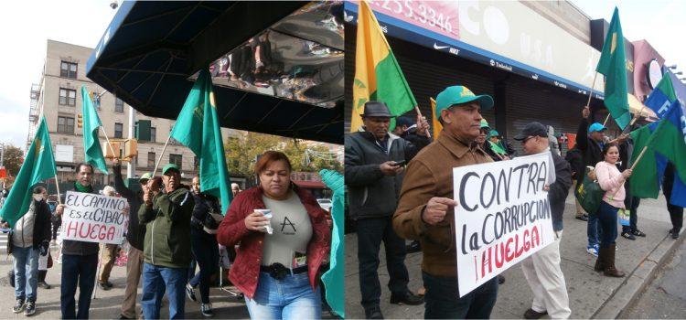 Dominicanos respaldan huelga en el Cibao