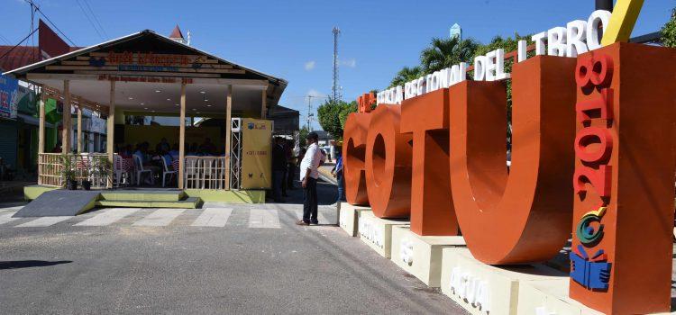 Informan actividades Feria Regional Libro