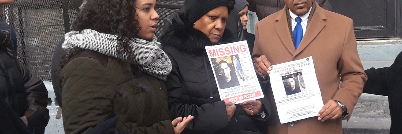 Reclaman agilizar búsqueda de desaparecido