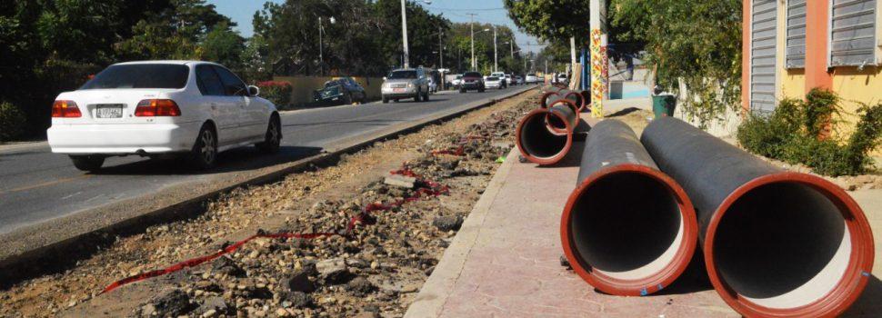 Inician construcción línea impulsión de agua