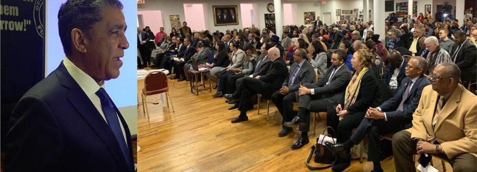 Espaillat ratifica su lucha a favor de migrantes