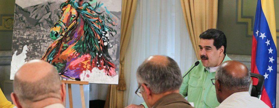 Maduro admite crisis y acepta ayuda de Europa