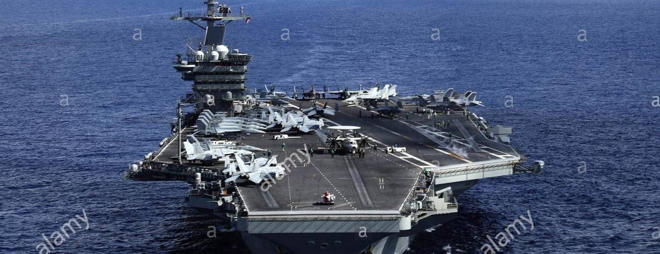 EE.UU. despliega portaaviones costas Florida
