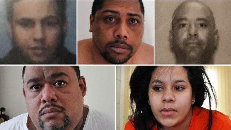 Cinco latinos presos por fabricar drogas