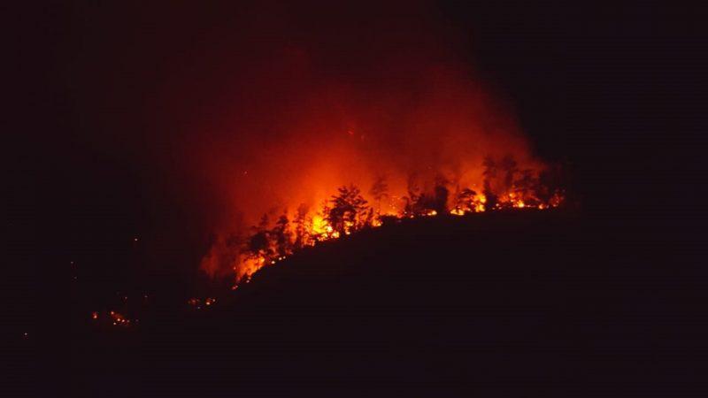 Tres incendios afectan comunidades cibaeñas