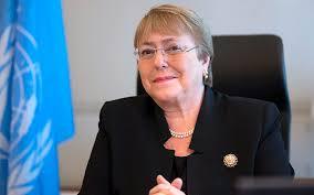 Bachelet habla sobre situación en Venezuela