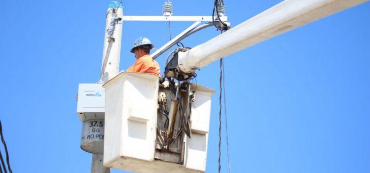 Edenorte informa entrada servicio troncal Jarabacoa