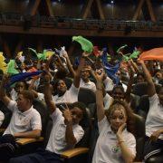 Instituciones dan inicio a evento estudiantil