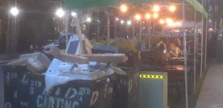 Basura preocupa residentes La Gran Manzana