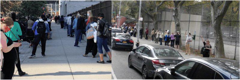 Dominicanos acuden a centros de votación