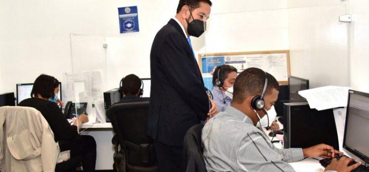 Empleados consulado abandonaron su trabajo