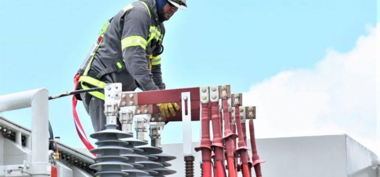 Trabajos línea de alta tensión saca servicio subestaciones
