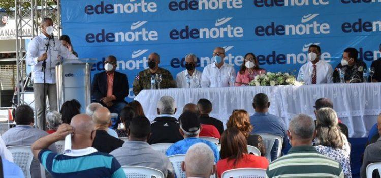 Edenorte inicia cambio redes en El Limón, Villa González