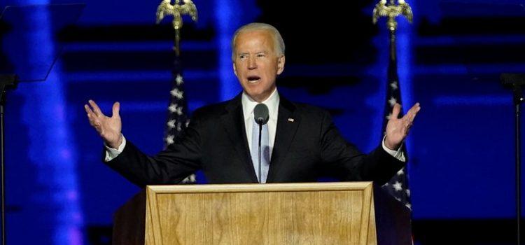 Biden pronuncia su primer discurso tras la victoria
