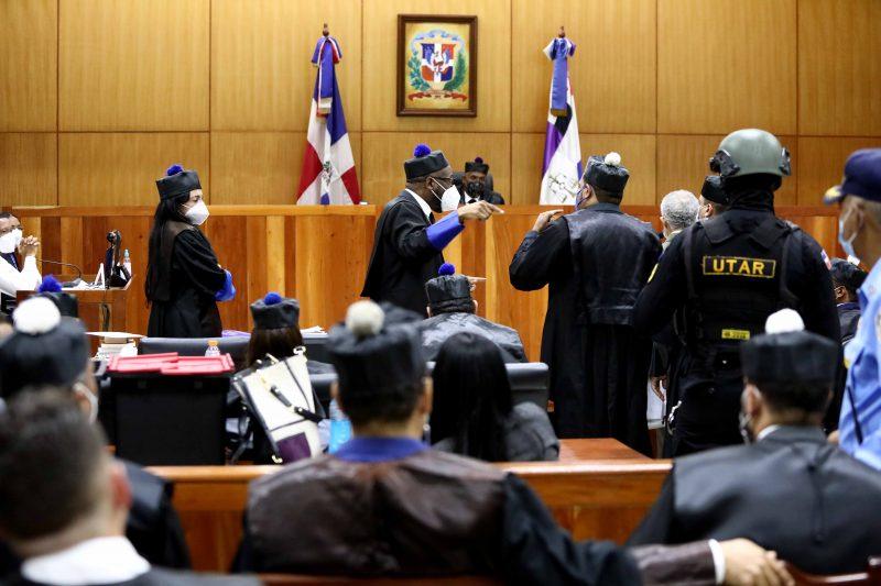 Este martes sigue audiencia contra acusados corrupcióm