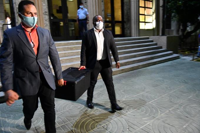 Otro detenido vinculan a la red del hermano de Danilo