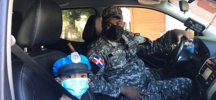 """Menor de 5 años """"patrulla"""" las calles Maizal"""