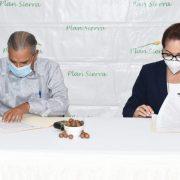 Comisión de diputados se reúne en el Plan Sierra