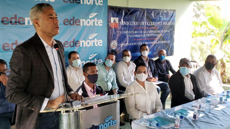 Edenorte instala luz 24 horas en la comunidad Canca Rana
