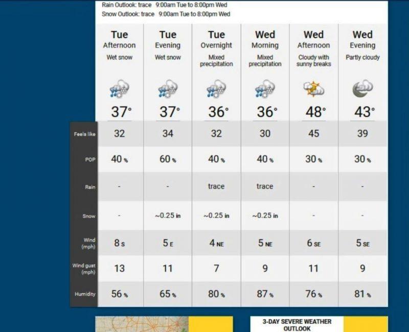 Pronostican nieve y frío para ciudad Nueva York