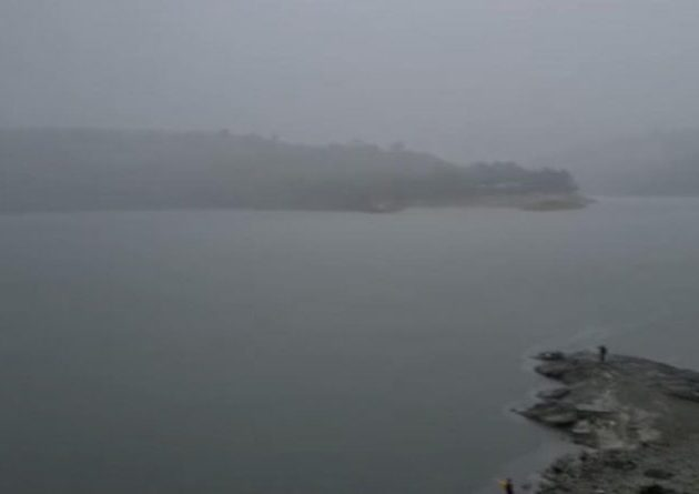 Lluvias provocan aumento caudal embalse presa Tavera