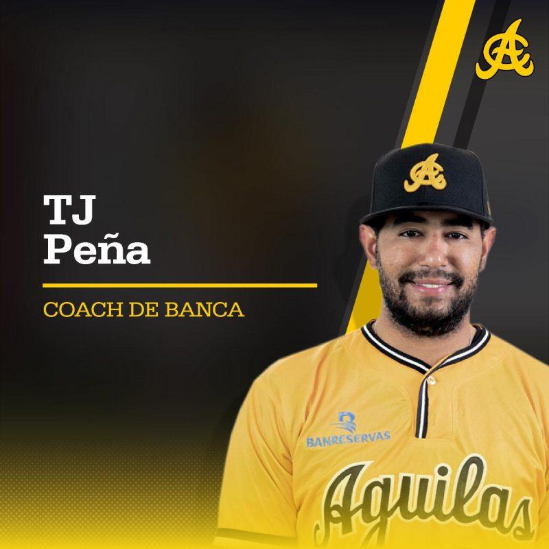 TJ Peña se queda en equipo las Águilas