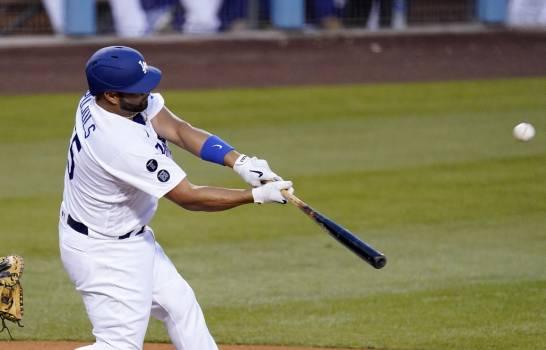 Pujols liga primer jonrón con Dodgers
