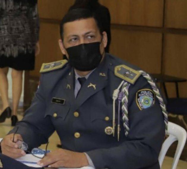 Designan coronel Calvo Pérez vocero PN en Cibao Central