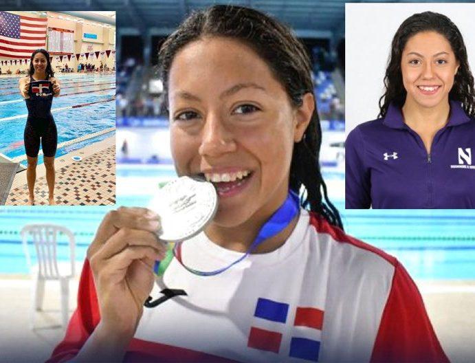 Nadadora va a Tokio representación RD