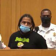 Pandillero dominicano en una Corte por asesinato de mujer