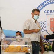 Coraasan celebra sorteo varias obras con costos millonarios
