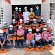 Edenorte auspicia graduación de electricistas comunitarios