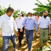 Gabinete Agropecuario en zona dañó ventarrón