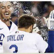 Chris Taylor guía triunfo de Dodgers
